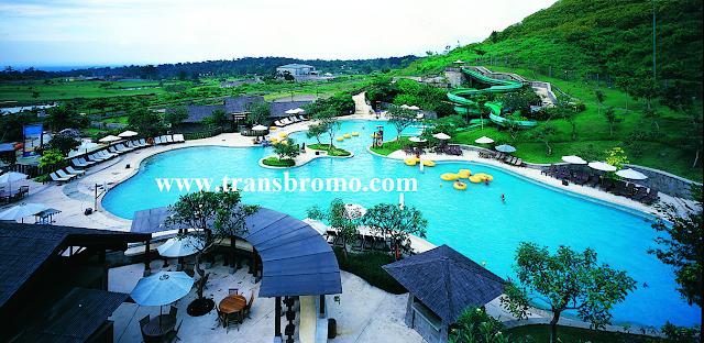 Wisata Pasuruan Jawa Timur Saygon Water Park Taman Dayu Foto