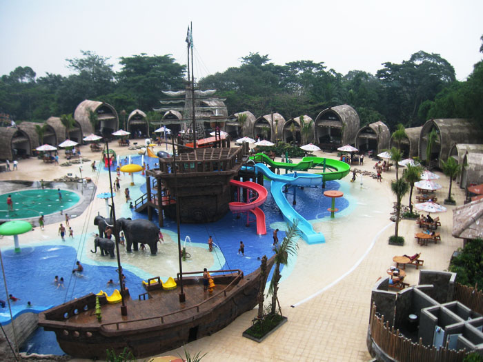 Safari Water World Picture Kicauan Taman Indonesia 2 Kab Pasuruan
