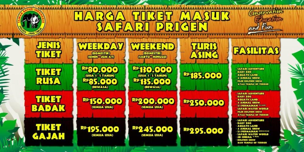 Taman Safari Indoneisa Prigen Pasuruan Ramai Pengunjung Travel Izy Malang