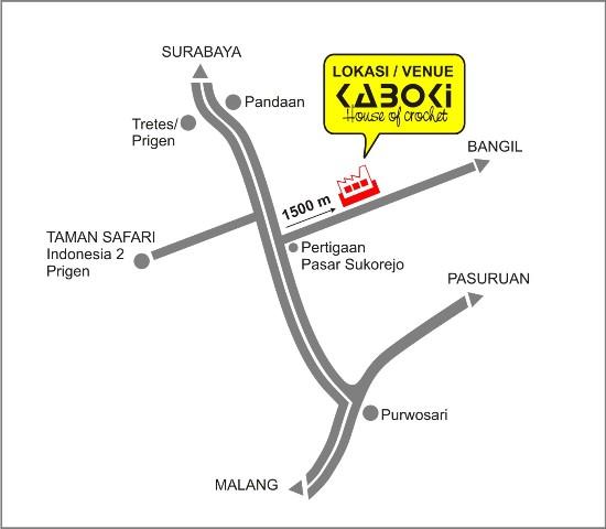 Wisata Tas Rajut Kaboki Lokasi Alamat Jl Raya Sukorejo Bangil