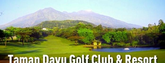 Dinas Kebudayaan Pariwisata Kab Pasuruan Taman Dayu Golf Club Resort