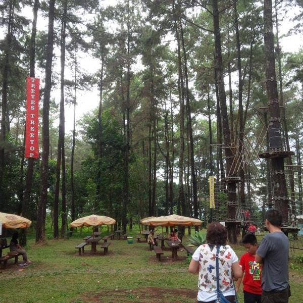 Foto Tretes Treetop Adventure Park Lintasan Diambil Oleh Boniface 8