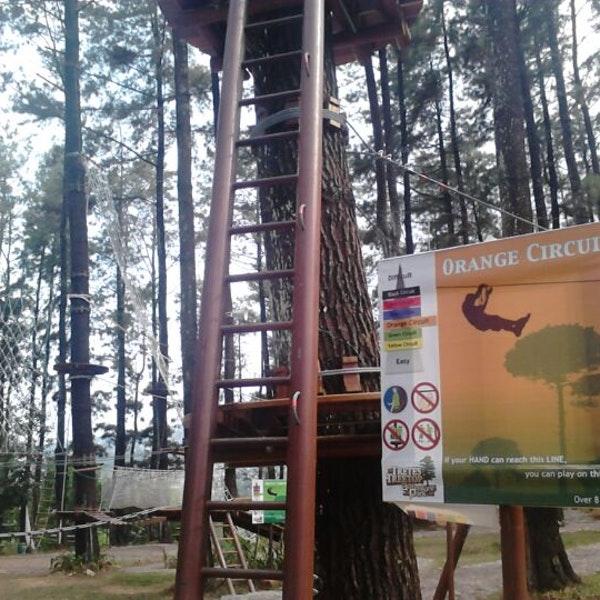 Foto Tretes Treetop Adventure Park Lintasan Diambil Oleh Dian 10