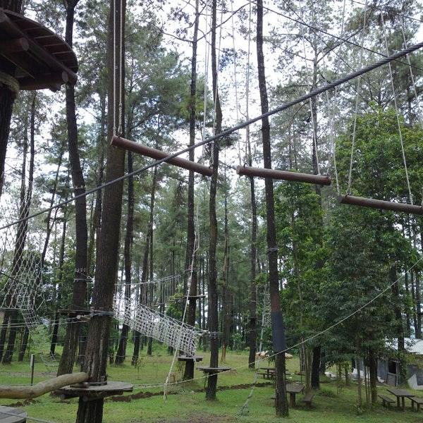 Foto Tretes Treetop Adventure Park Lintasan Diambil Oleh Johannes 2