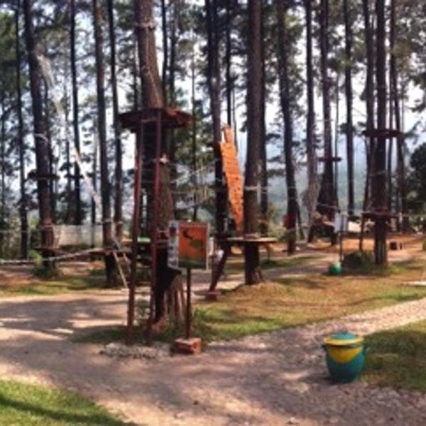Foto Tretes Treetop Adventure Park Lintasan Diambil Oleh Kuncoro 10