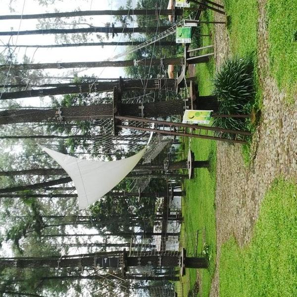 Foto Tretes Treetop Adventure Park Lintasan Diambil Oleh Stefanus 2