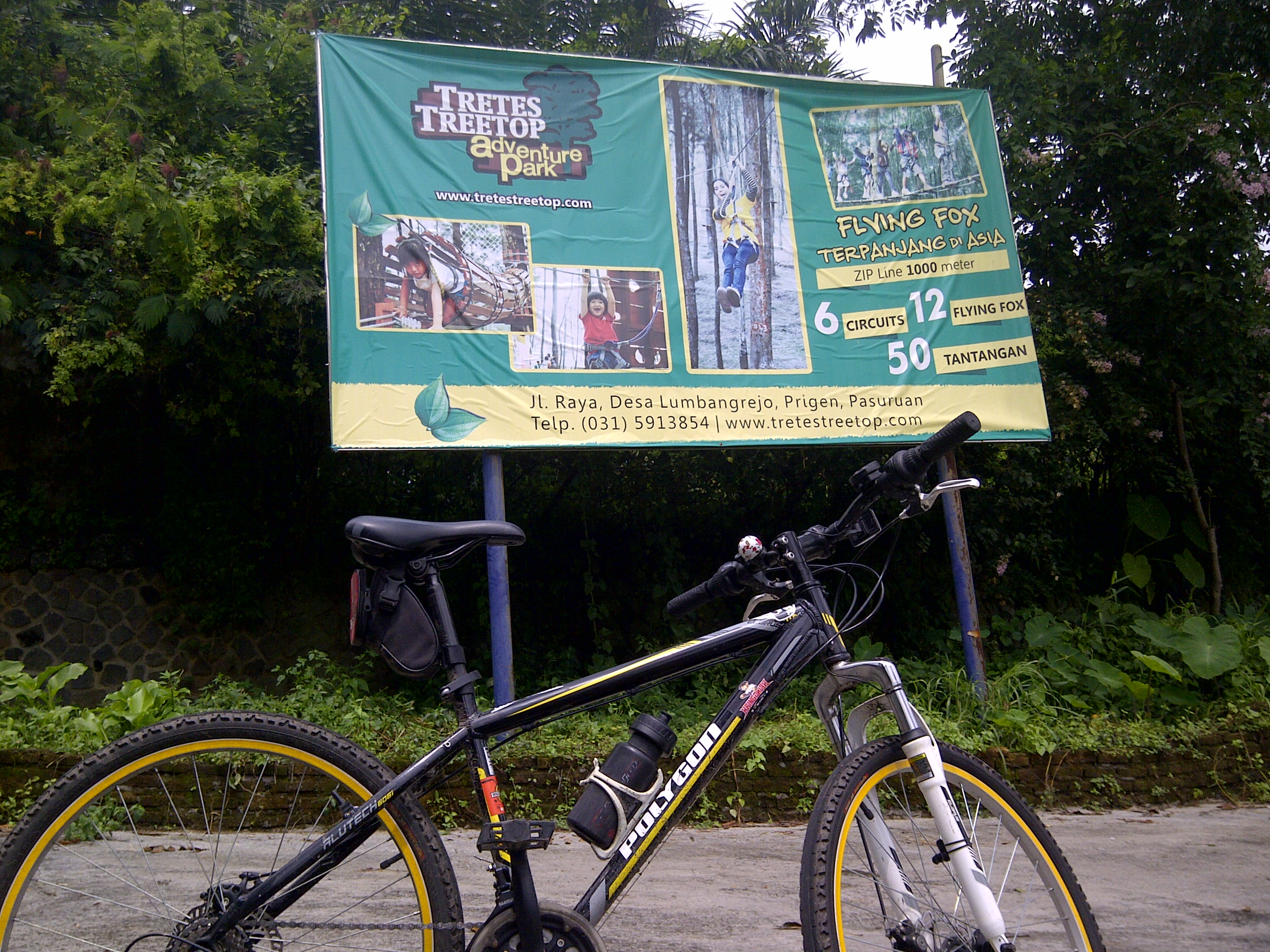 Jolotundo Yuk Kita Sepedaan Img 20150301 06829 Tretes Treetop Adventure