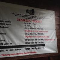Tretes Treetop Adventure Park Trail Photo Diago 1 25 Kab