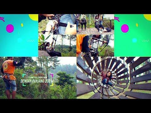 Wisata Alam Tretes Treetop Youtube Adventure Park Kab Pasuruan