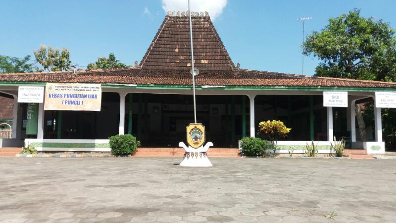 April 2017 Desa Sambilawang Berada Kecamatan Trangkil Kabupaten Pati Dekat