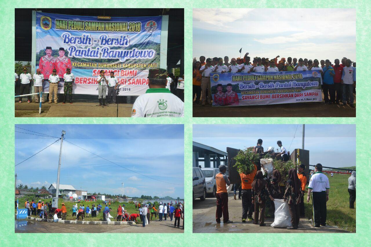 Bersih Pantai Banyutowo Rangka Hpsn Kab Pati 2018 Dinas Whatsapp