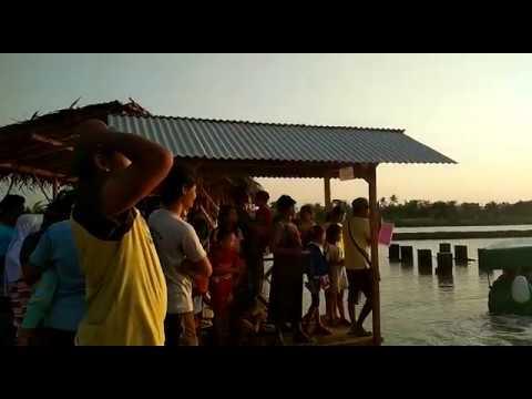 Pantai Idola Banyutowo Sore Hari Youtube Kab Pati