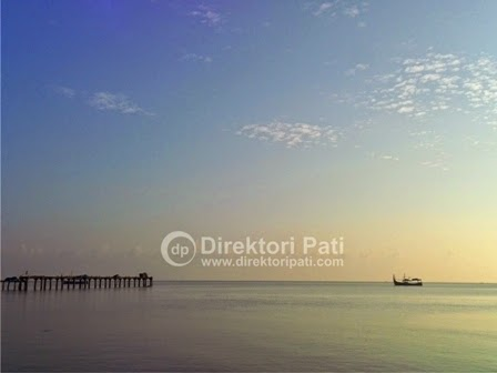 Tips Liburan Murah Kabupaten Pati Direktori Senja Pantai Banyutowo Kab