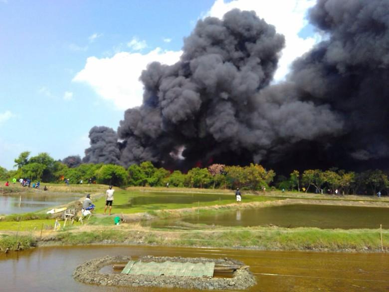 9 Kapal Terbakar Pulau Seprapat Pati Juwana Kab