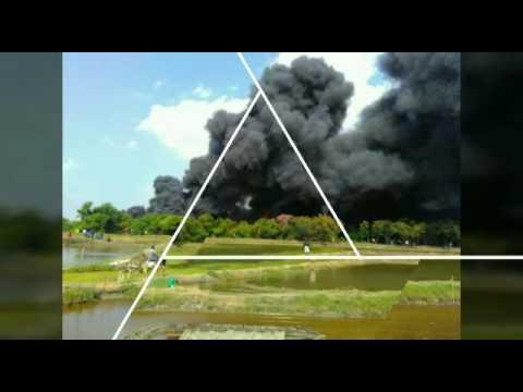 9 Kapal Terbakar Utara Pulau Seprapat Sungai Kenongo Juwana Pati