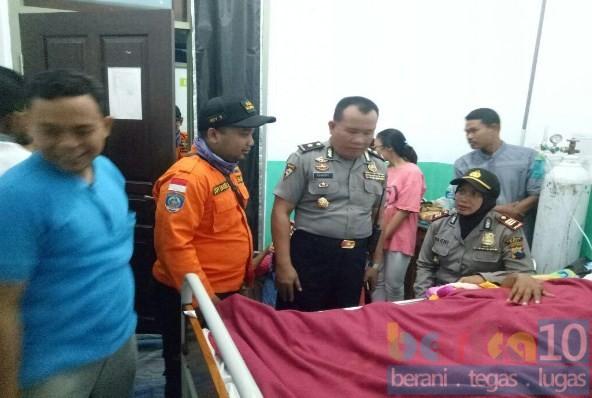 Korban Kapal Terbakar Dijenguk Jajaran Polres Pati Berita10 Berita 10