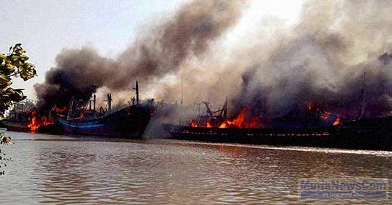 Regional Murianewscom Laman 9 Belasan Kapal Ditambat Kawasan Pulau Seprapat