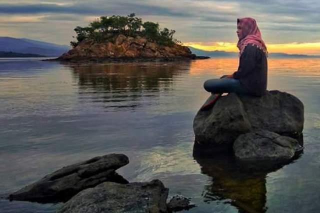 Objek Wisata Buttu Karamasang Pilihan Polewali Mandar Bagian Kelurahan Amassangan