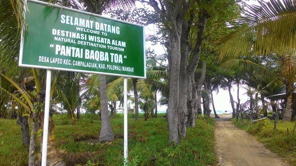 Pantai Lapeo Pilihan Pelesiran Campalagian Blog Kompa Dansa Mandar Signboard