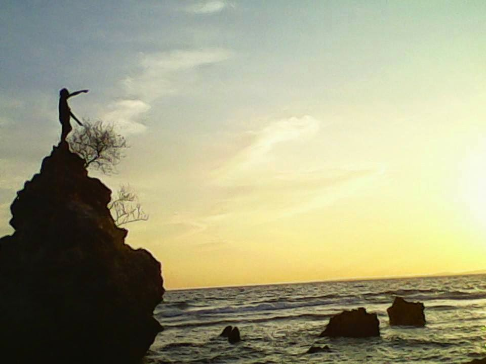 Menikmati Sunset Pantai Labuang Polman Mandarpedia Kab Polewali Mandar
