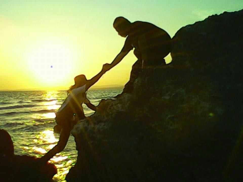 Menikmati Sunset Susur Gua Pantai Labuang Kab Polewali Siluet Unset