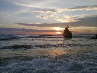 Senja Pesisir Pantai Labuang Polewali Mandar Visit Campalagian Kab