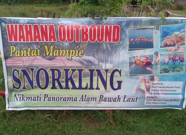 Ditawari Snorkling Wisatawan Pantai Mampie Merasa Ditipu Kab Polewali Mandar