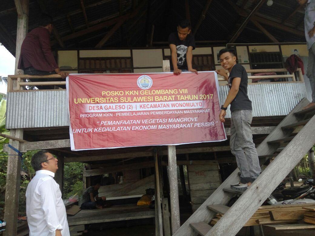 Mahasiswa Unsulbar Kkn Mampie Salah Satu Programnya Tentang Universitas Sulawesi