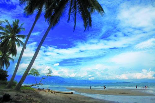 Pantai Mampie Indah Asri Sulawesi Barat Kab Polewali Mandar