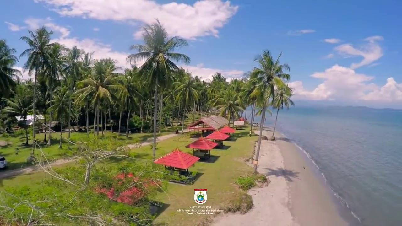 Pantai Mampie Polewali Mandar Objek Wisata Dinas Pemuda Olahraga Pariwisata