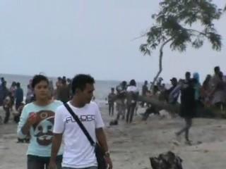 Peace Journalism Eksotisme Pantai Mampie Pikat Pengunjung Kemana Berlibur Menjelang