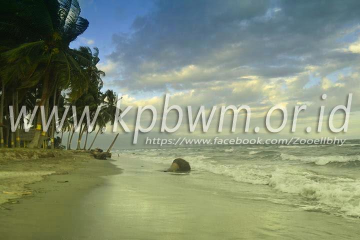 Pesona Pantai Mampie Senja Polman Kab Polewali Mandar