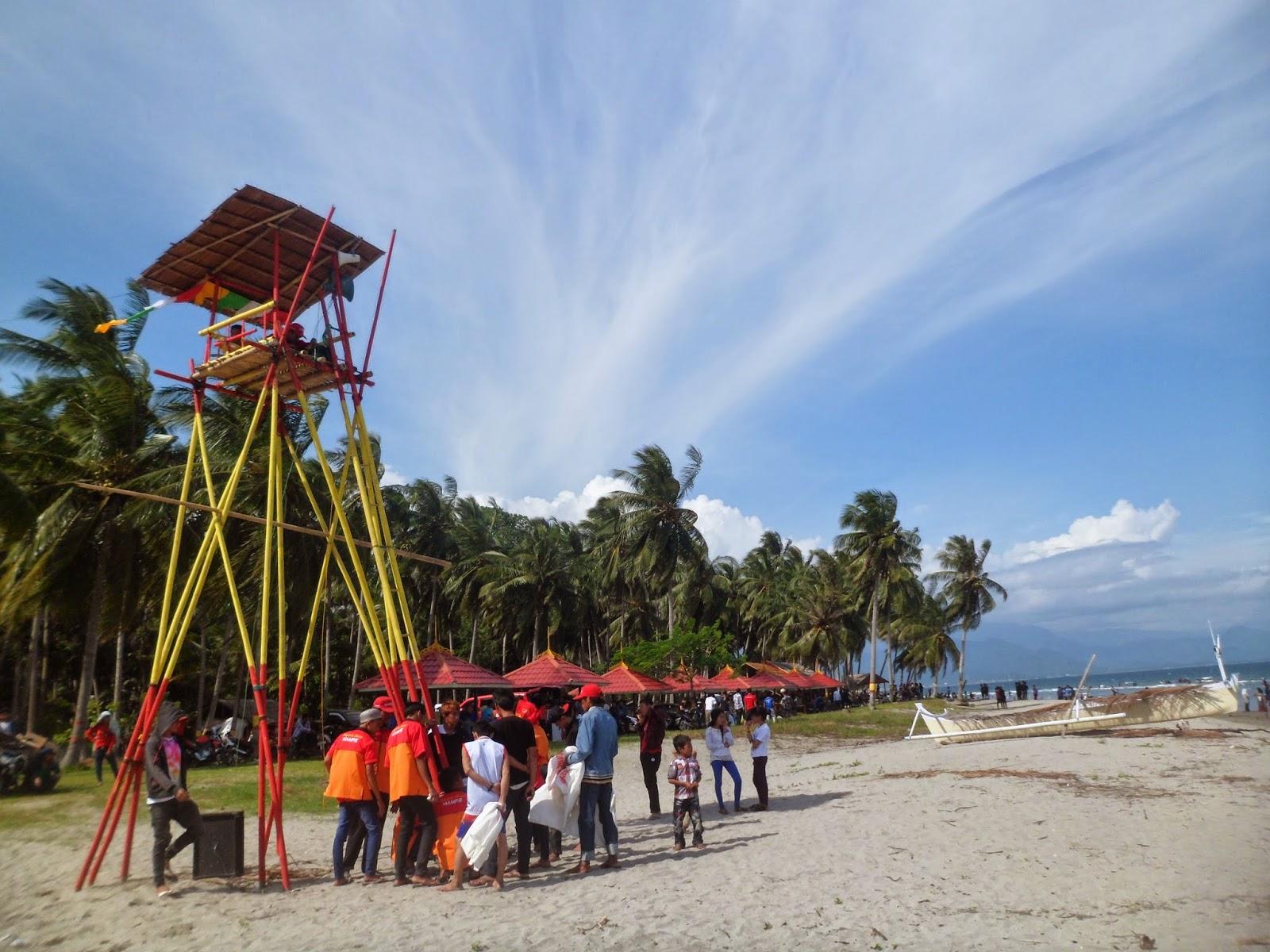 Sejarah Singkat Pantai Mampie Kab Polewali Mandar