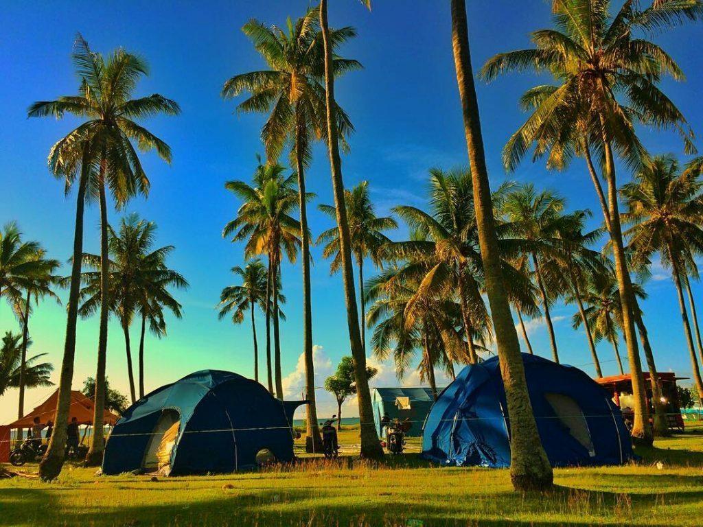 Surga Kecil Pantai Mampie Polewali Mandar Recommended Liburan Lebaran Kab