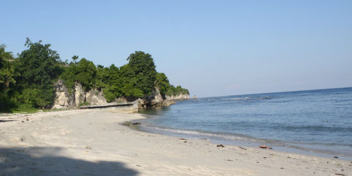 Keindahan Laut Lepas Pantai Palippis Celebes Kab Polewali Mandar