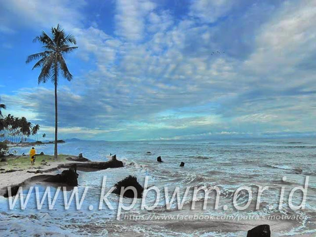 Pantai Baurung Campalagian Potensi Wisata Teronggok Kabupaten Polewali Mandar Palippis