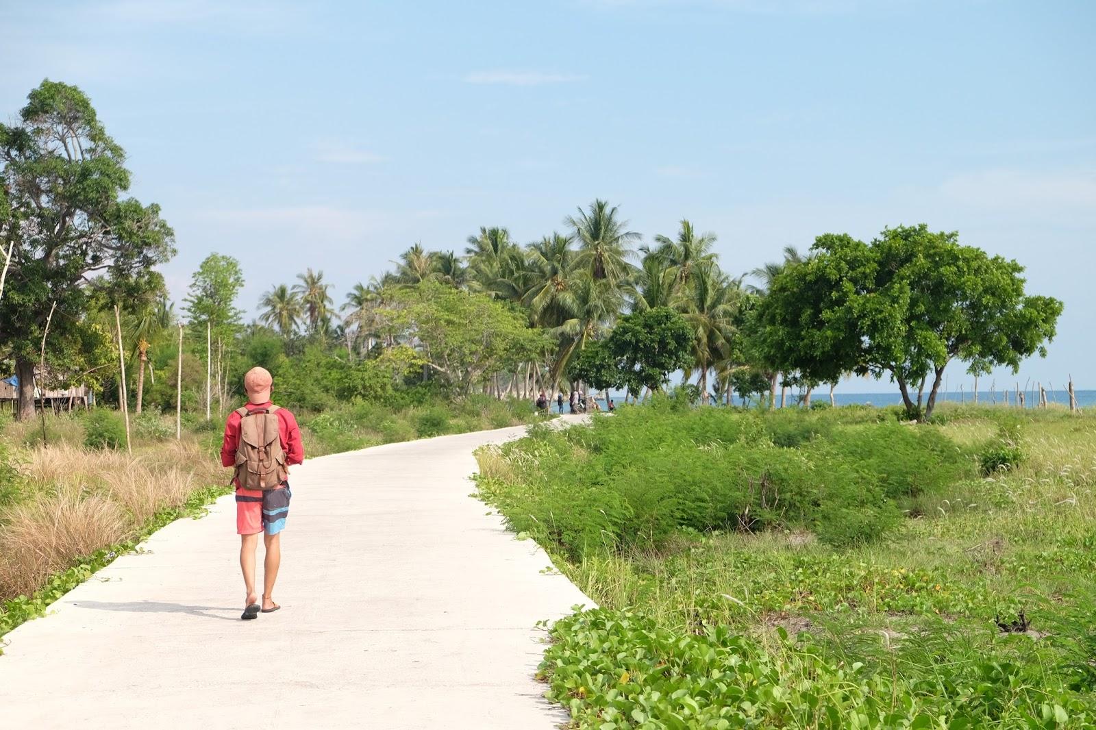 Pantai Palippis Keren Sulbar Mulai Tenar Kembali Jalanan Menuju Kab