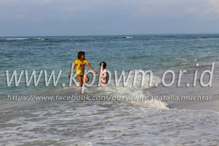 Pantai Palippis Sempurna Wisata Keluarga Ombak Polman Kab Polewali Mandar