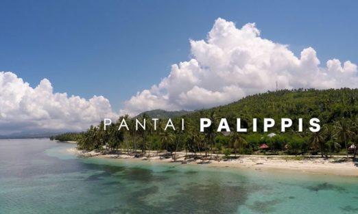 Pantai Palippis Surga Pecinta Pasir Putih Bagi Wisatawan Sportourism Kab