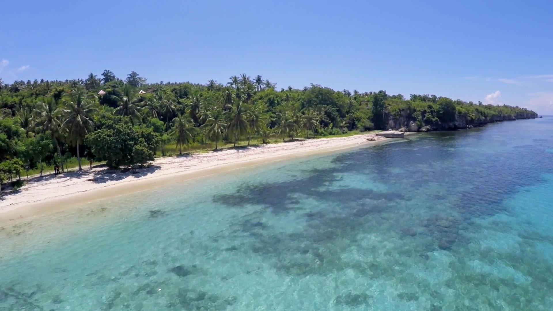 Pantai Palippis Surga Pecinta Pasir Putih Sulawesi Barat Kab Polewali