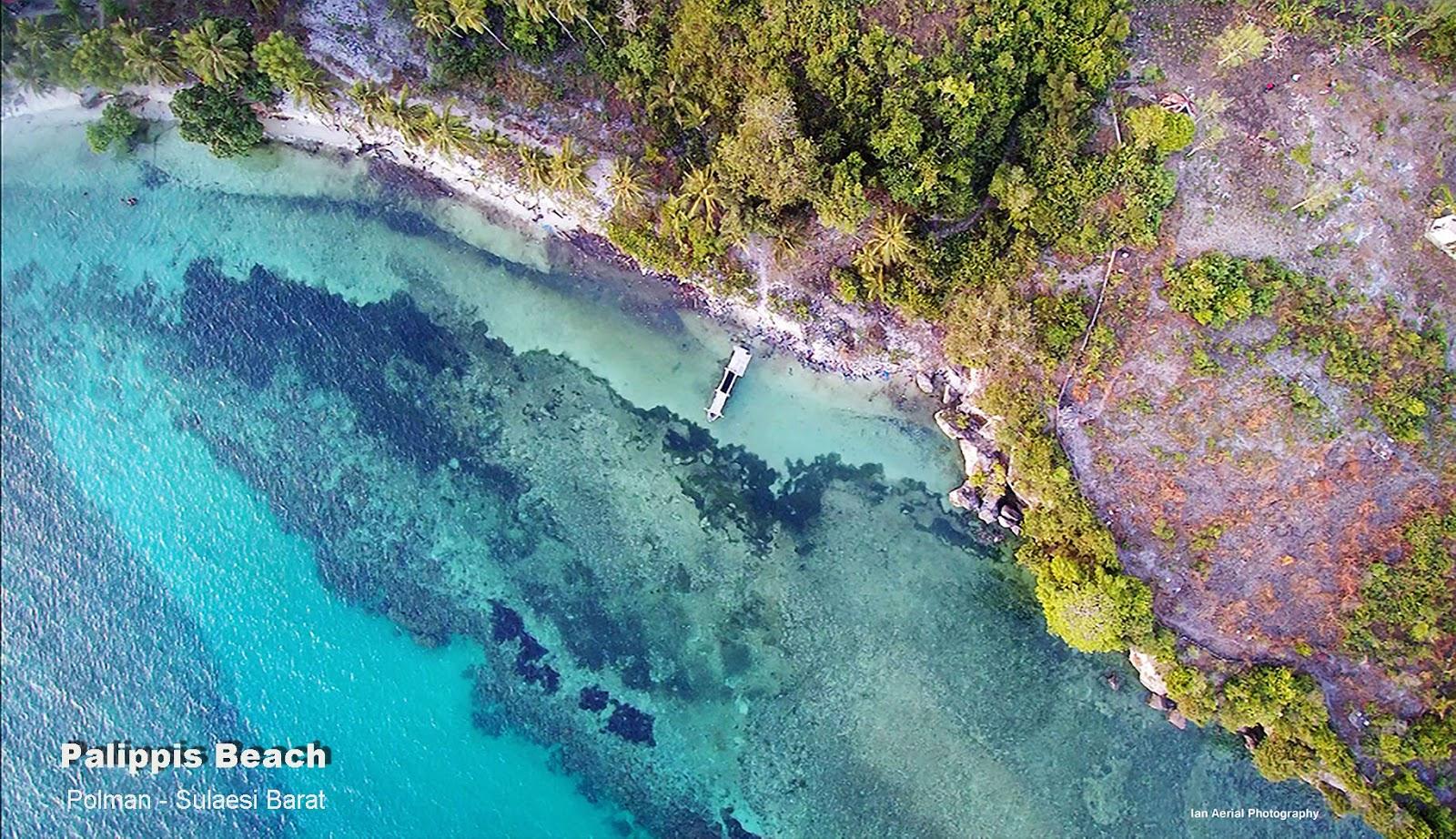 Pantai Palippis Zoomtemplate Salah Satu Obyek Wisata Alam Terletak Polewali