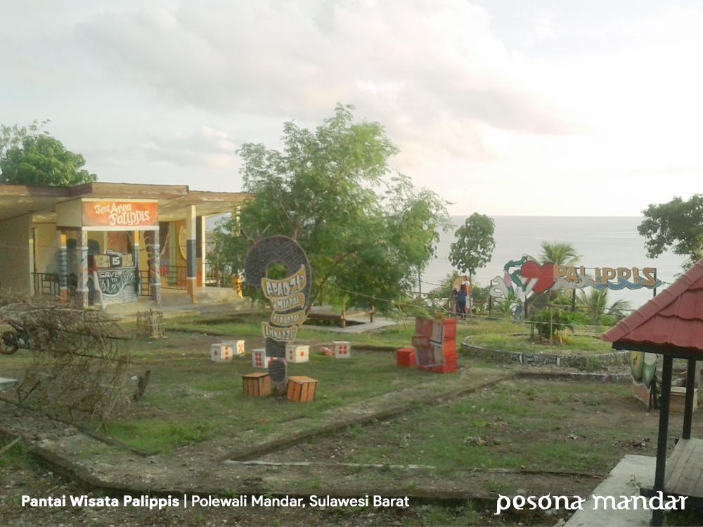 Pantai Wisata Palippis Polewali Mandar Pesona Bagian Depan Kalian Melihat