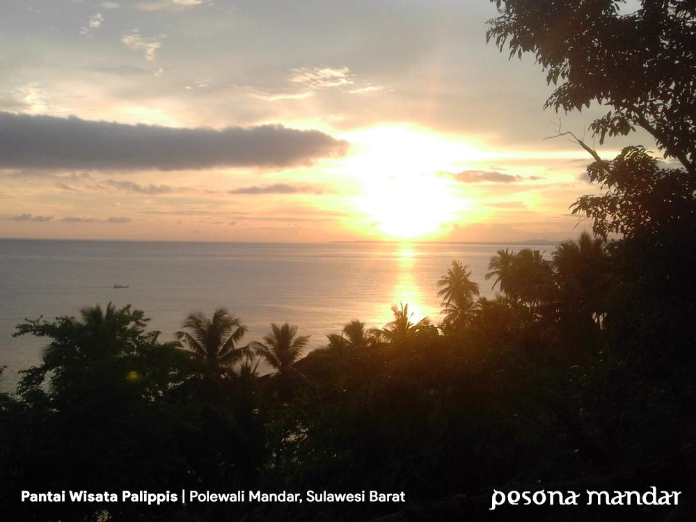 Pantai Wisata Palippis Polewali Mandar Pesona Fasilitas Cukup Lengkap Contohnya