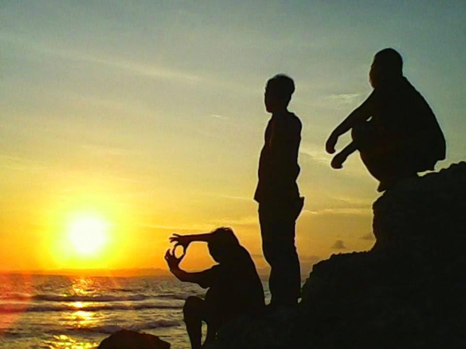 Sisi Lain Pantai Labuang Kec Campalagian Kab Polewali Mandar Sunset