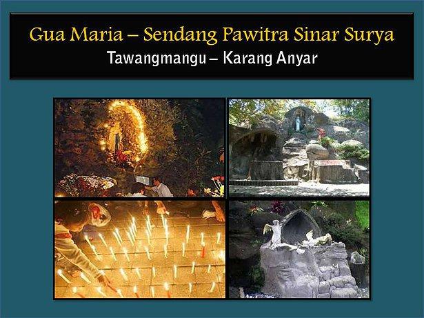 Adventure Paket Wisata Ziarah Gua Maria Sendang Pawitra Ss Fatima