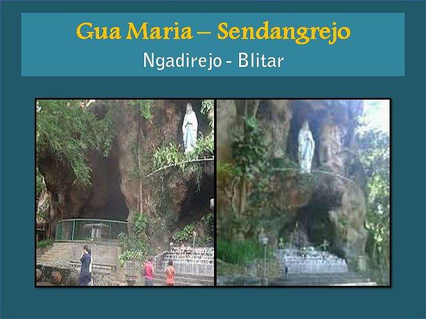 Adventure Paket Wisata Ziarah Gua Maria Sendangrejo Fatima Kab Ponorogo