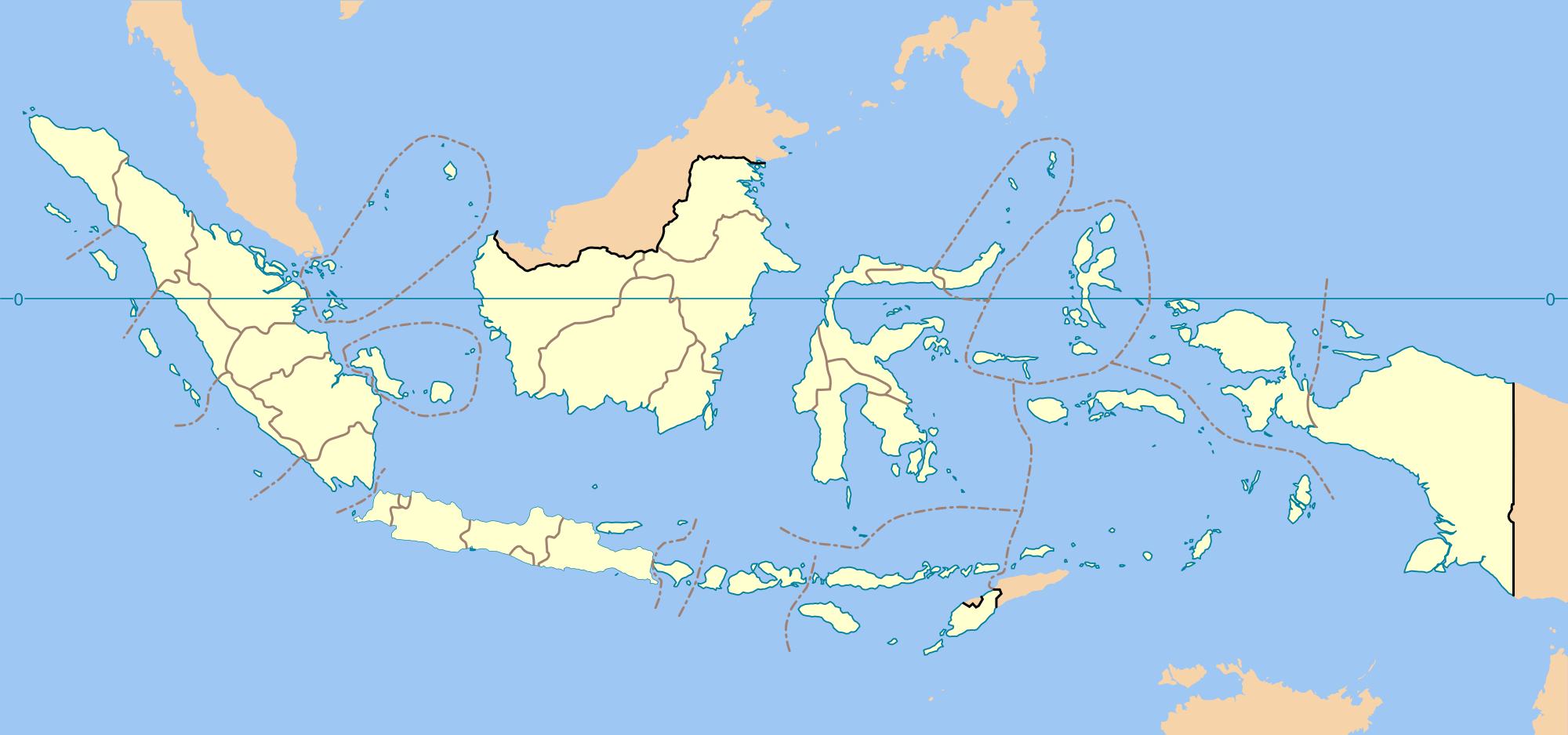 Daftar Gua Maria Indonesia Wikipedia Bahasa Provinces Blank Map Svg