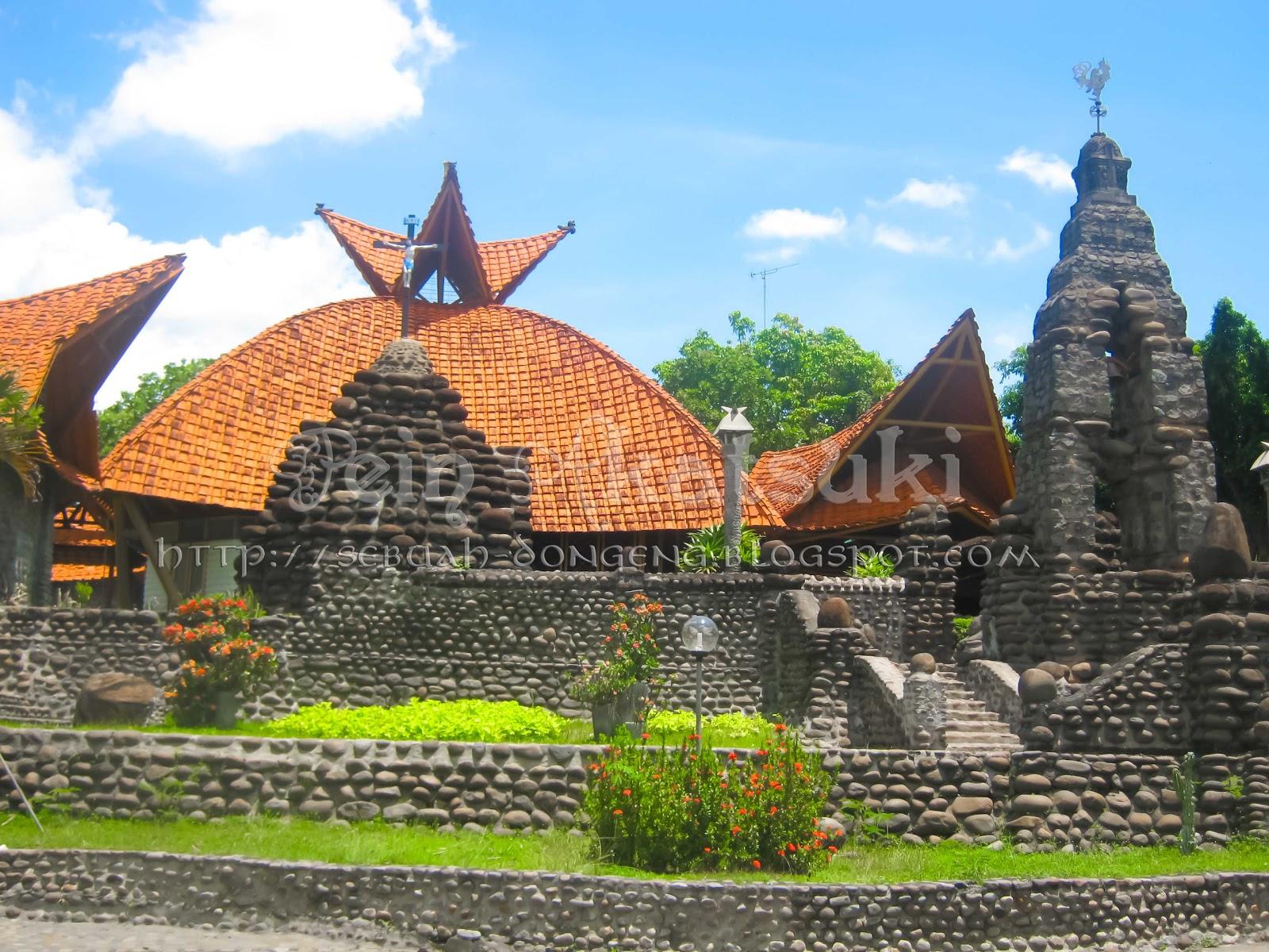 Frengki Samosir Januari 2012 Gereja Pohsarang Gua Maria Fatima Kab