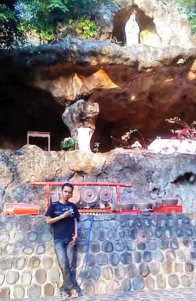 Goa Maria Fatima Wisata Religi Pembawa Berkah Lihat Id Klepu