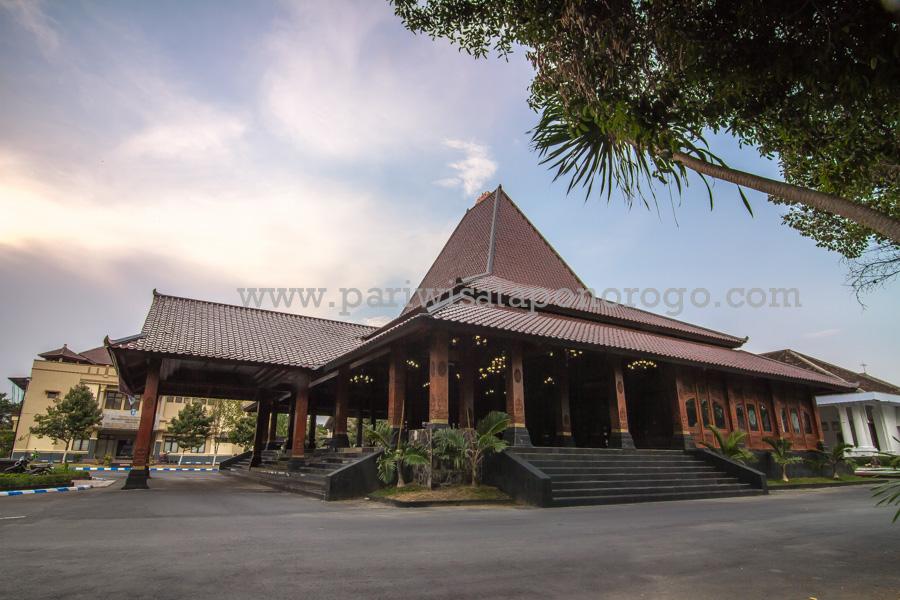 Gedung Pendopo Kabupaten Ponorogo Wisata Indah Masjid Agung Kota Kab